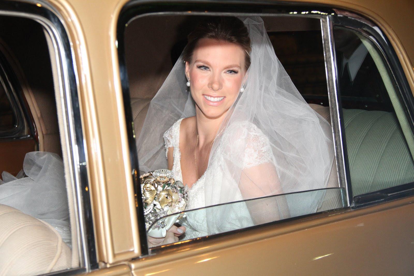 A bela noiva Talita Stoppazzolli