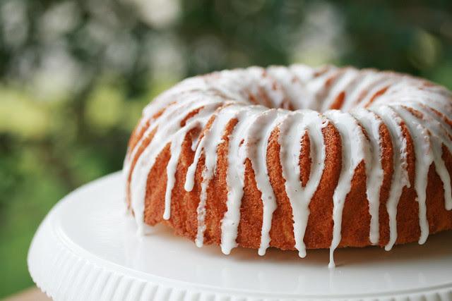 Meyer Lemon Pound Cake Bundt