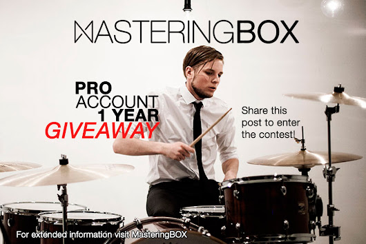 Contest: Get a PRO Account 1 YEAR for FREE! | MasteringBOX
