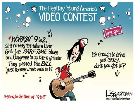 Cartoon Obamacare Video Contest