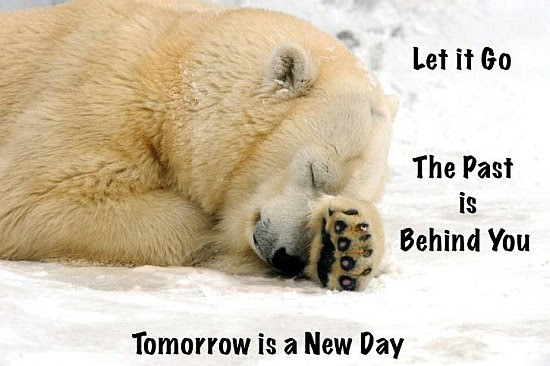 The Past Is Behing You Tomorrow Is A New Day Quote Picture
