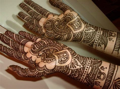 Mehndi Designs For Hands : Arabic Henna/Mehndi Designs For