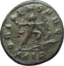 AURELIAN 274AD Rome Authentic Ancient Original Roman Coin w SOL SUN GOD i66342