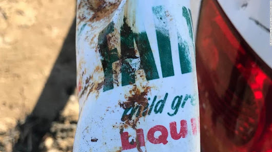 A decades-old plastic bottle washed up looking 'almost new' on a UK beach - CNN