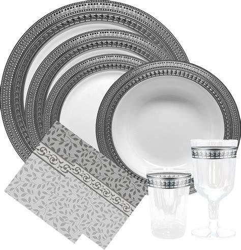 56 Elegant Dinnerware Disposable, Cheap Elegant Disposable