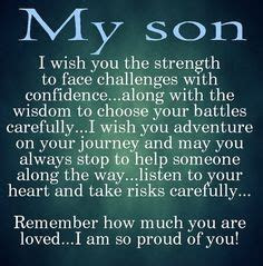 Quotes About Son Leaving Home. QuotesGram