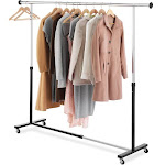 Whitmor Expandable Garment Rack (Chrome)