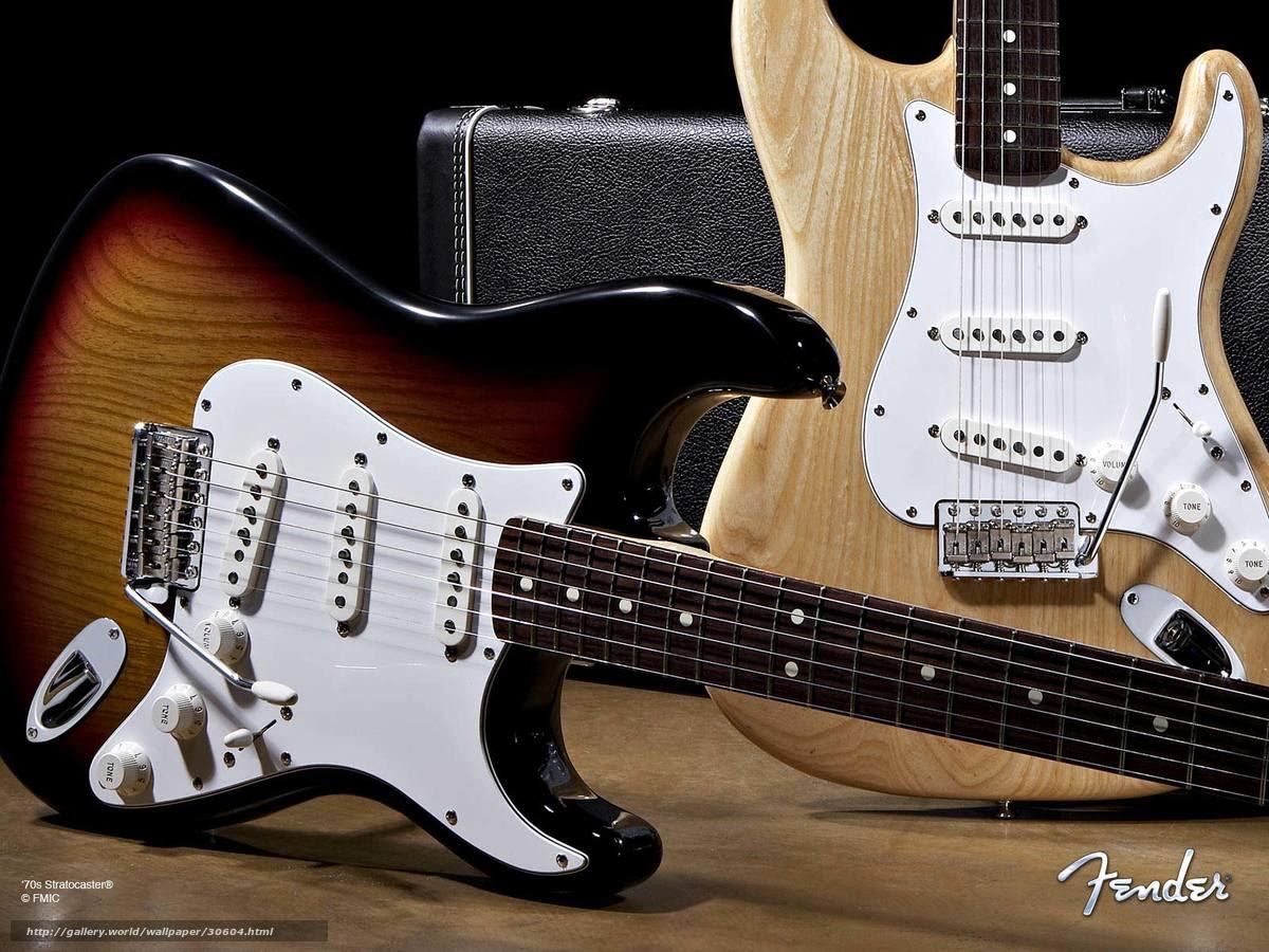 壁紙をダウンロード ギター フェンダー ストラトキャスター