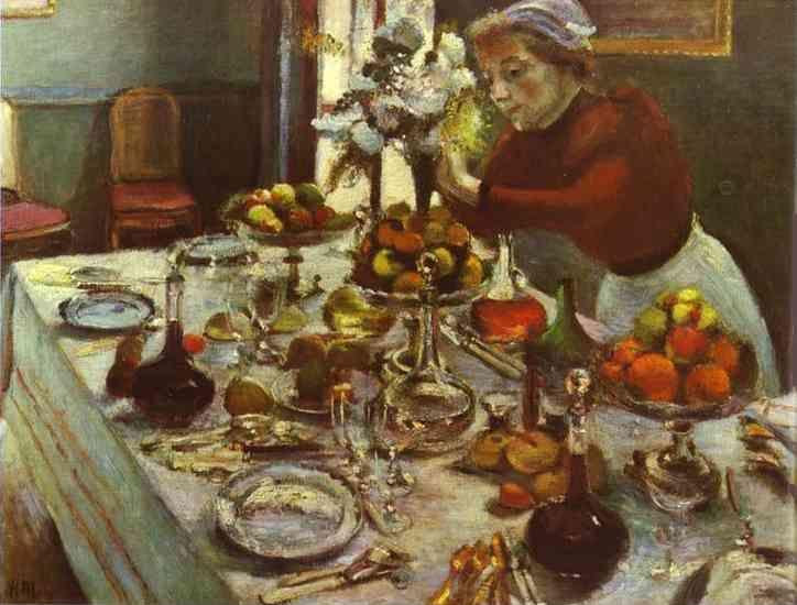 Henri Matisse. Dinner Table.
