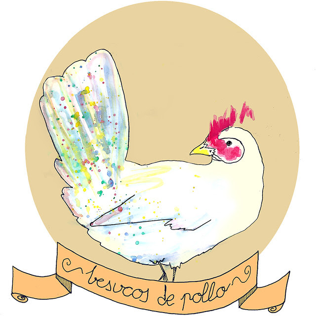 Besucos de pollo