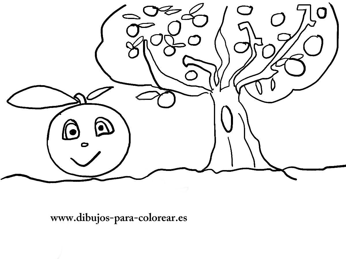 Dibujos De Frutas Dibujos Para Colorear