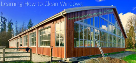 Learning How to Clean Windows - Window Cleaner Secrets Blog