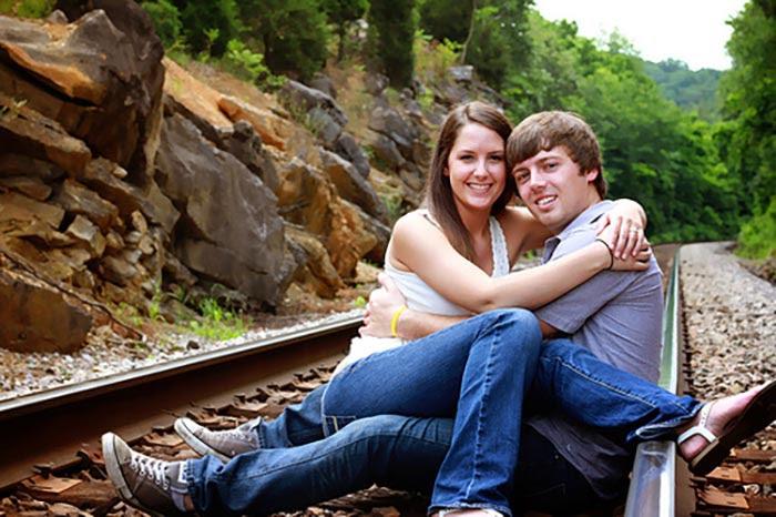 2. Love on the tracks.