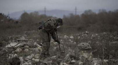 Миротворцы России провели разминирование на южной окраине Степанакерта