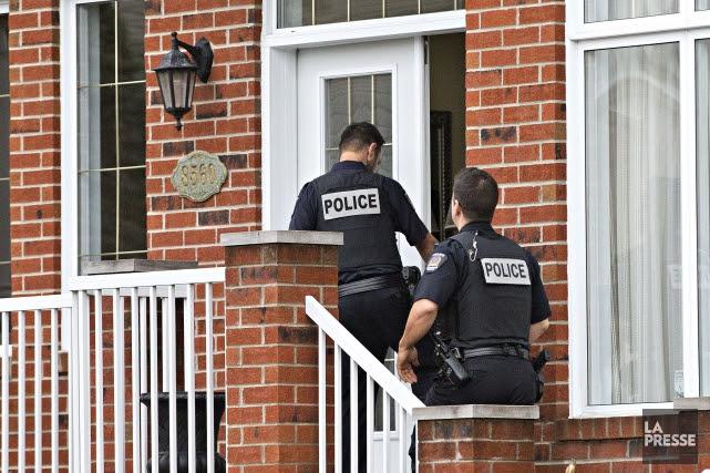 L'UPAC a demandé l'aide de patrouilleurs de la... (Photo Patrick Sanfaçon, La Presse)