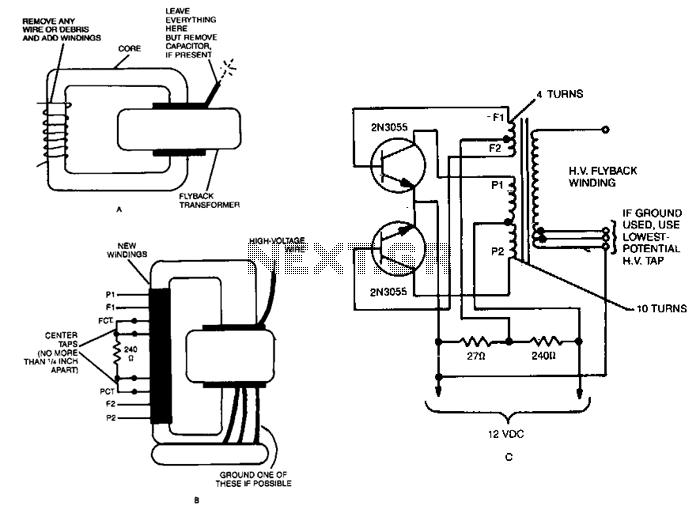 Tesla Coil Wiring Diagram