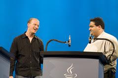 "Eran Davidov and Eric Klein, General Session ""Your Java Lifestyle: Mobile, TV and Beyond"" on Jun 3, JavaOne 2009 San Francisco"