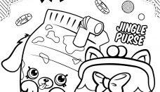 Shopkins Dökülen Süt Boyama Sayfası