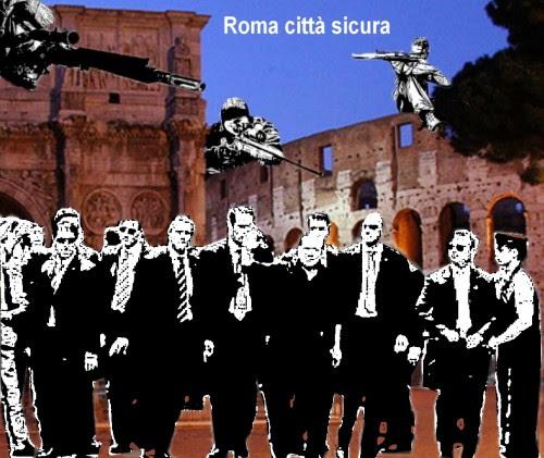 satira,attualità,sfoghi,roma,berlusconi,sicurezza,