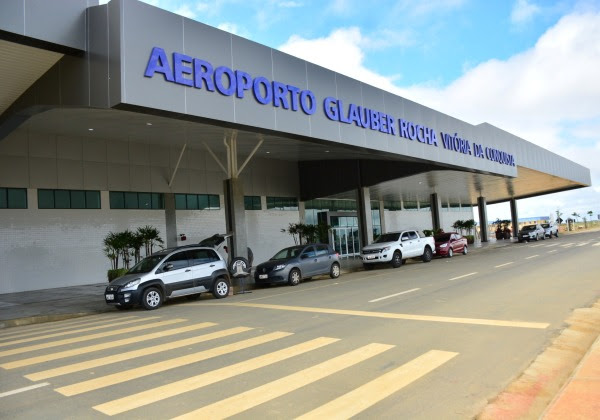 aeroporto glauber rocha foto facebook