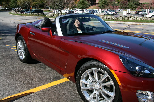 Saturn SKY Roadster fits me well