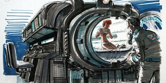 The Fifth Element: 40 Original Concept Art Gallery - Daily Art, Movie Art