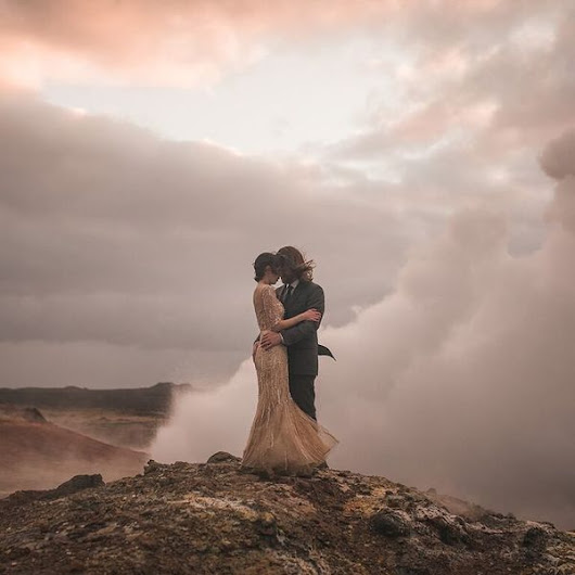 23 Iceland Wedding Photos So Dreamy, You'll Be Booking A Trip ASAP | The Huffington Post