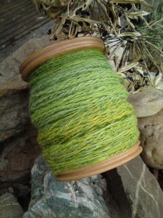 Rau-grün-Häkelkorb 3