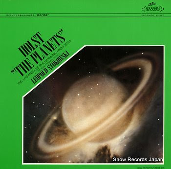 STOKOWSKI, LEOPOLD holst; the planets