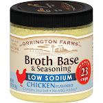 Orrington Farms Low Sodium Broth Base and Seasoning - Chicken - 5 Ounce - PACK OF 6