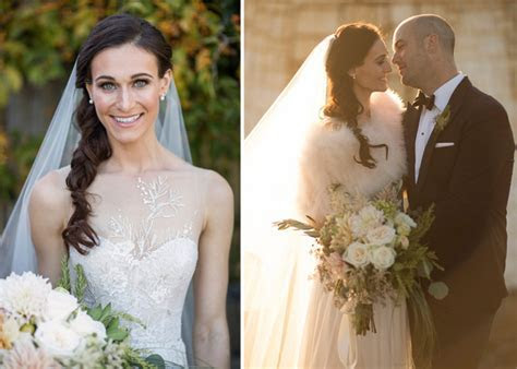Monique Lhuillier Real Wedding From Josh Behan Photography