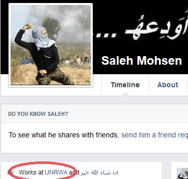 Salah Mohsen - UNRWA link