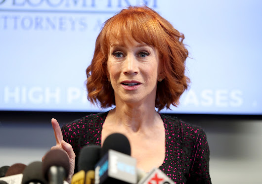 Kathy Griffin predicts career is over, says Trump 'broke me'