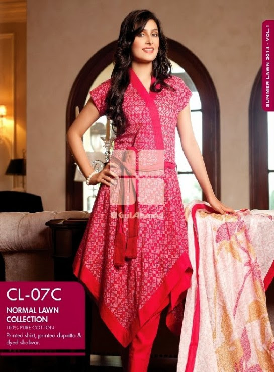 Girls-Wear-Summer-Dress-Chunri-Prints-Block-Prints-Embroidered-Single-Lawn-New-Fashion-Suits-by-Gul-Ahmed-14