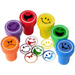 US Toy MX455 Smile Stampers - 6 Piece