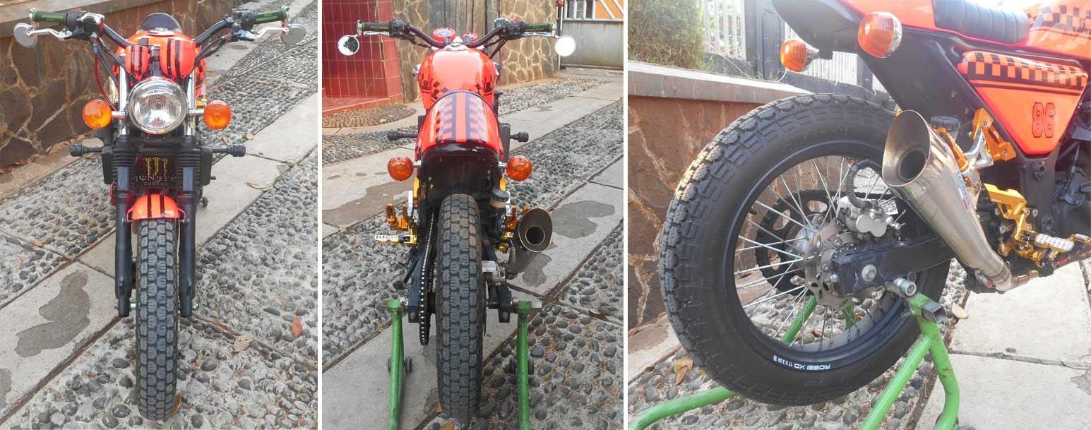 bengkel modifikasi motor roda tiga bekasi