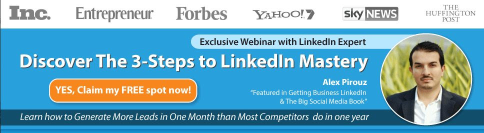 LinkedIn Mastery Free Webinar