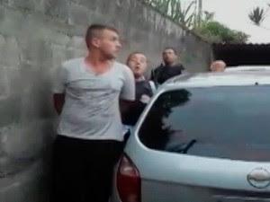 Polícia Civil do Alto Tietê ajuda na prisão de quadrilha que roubava caixas eletrônicos (Foto: Reprodução/ Tv Diário)