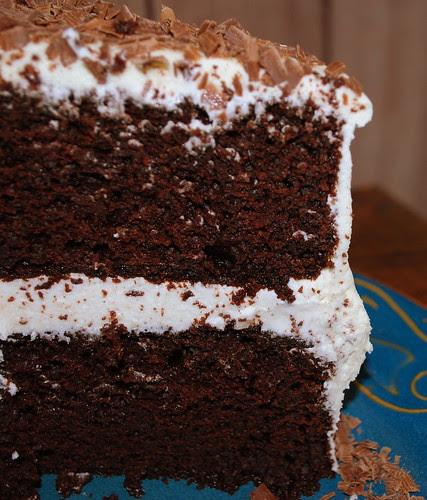 choc cake piece