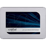 "Crucial 500 GB Internal SSD - 2.5"" - MX500 - SATA 6Gb/s"