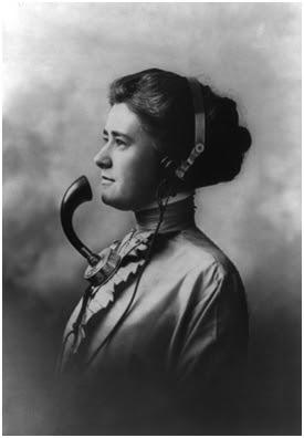 Telefonista. Imagen extraída de Wikipedia
