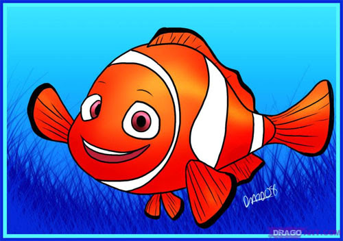 How-to-Draw-Nemo-from-Finding-Nemo
