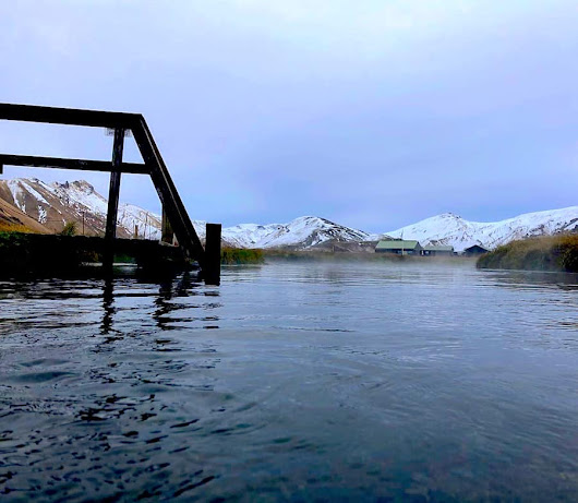 Taking the Plunge: Lagoons of Iceland - Five Family Adventurers