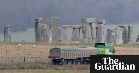 Stonehenge tunnel could destroy 'unique library' of early history | Science | The Guardian