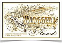 the blogger award