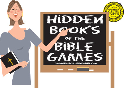 Hidden Books of the Bible Games Free Printables | Courageous Christian Father