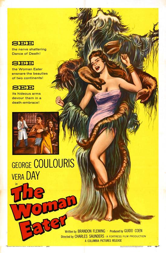 affiche vintage film horreur 1950 18 Affiches de films dhorreur des années 50  design