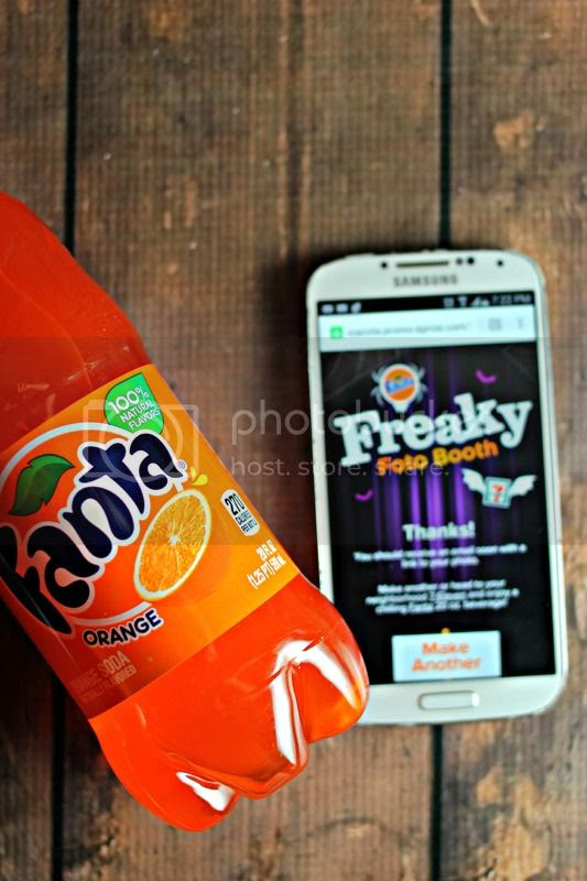 Halloween Fun with Fanta's Freaky Foto Booth