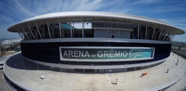 Arena do Grêmio receberá jogo às 11h, em 10 de maio, na 1ª rodada do Brasileirão