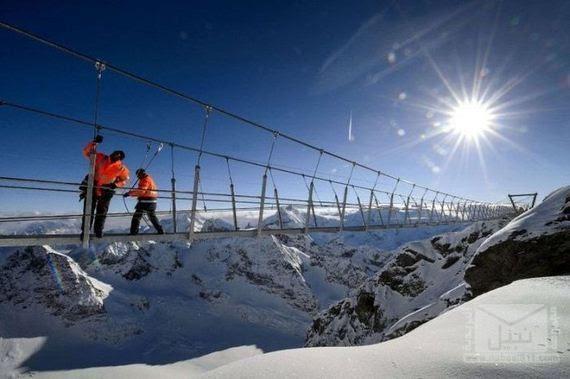 07-The Highest Suspension Bridge in Europe